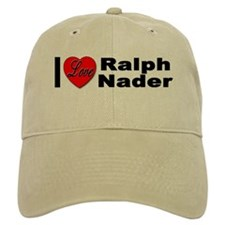 I Love Ralph Nader Baseball Cap