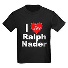 I Love Ralph Nader (Front) T