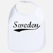 Vintage Sweden (Black) Bib