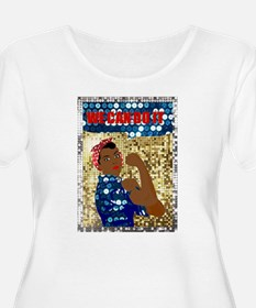 african rosie the riveter Plus Size T-Shirt