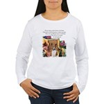Basenji Art Women's Long Sleeve T-Shirt