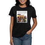 Basenji Art Women's Dark T-Shirt