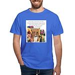 Basenji Art Dark T-Shirt