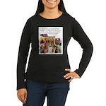 Basenji Art Women's Long Sleeve Dark T-Shirt