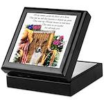 Basenji Art Keepsake Box