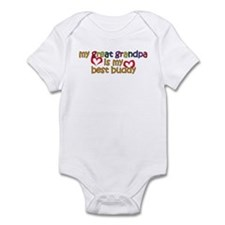 Great Grandpa is My Best Buddy Infant Bodysuit