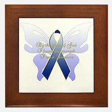 COLON CANCER Framed Tile
