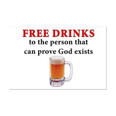 Free Drinks Posters
