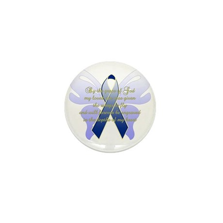 COLON CANCER Mini Button