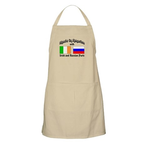 Irish-Russian BBQ Apron