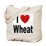 I Love Wheat Tote Bag