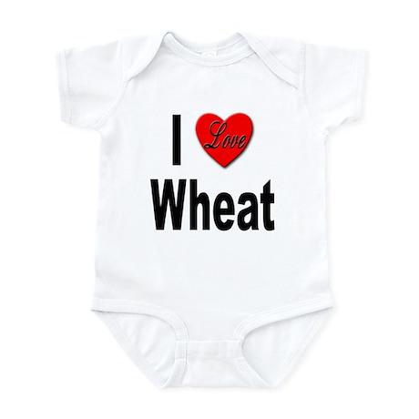 I Love Wheat Infant Bodysuit