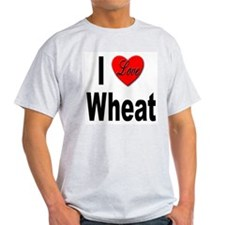I Love Wheat (Front) T-Shirt