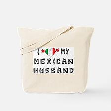 I Love My Mexican Husband Tote Bag