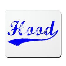 Vintage Hood (Blue) Mousepad