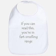 Fart Smelling Range Bib