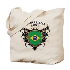 Number One Brazilian Aunt Tote Bag