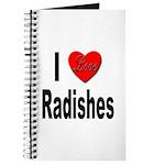 I Love Radishes Journal