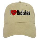 I Love Radishes Cap