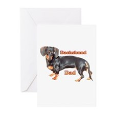 Dachshund Dad Greeting Cards (Pk of 20)