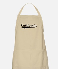 Vintage California (Black) BBQ Apron