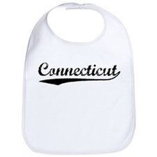 Vintage Connecticut (Black) Bib