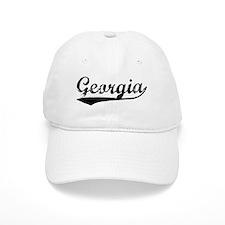 Vintage Georgia (Black) Baseball Cap