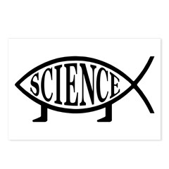 Science Fish Postcards (Package of 8)