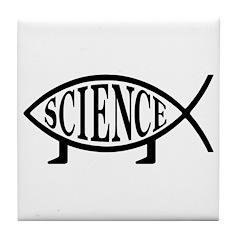 Science Fish Tile Coaster