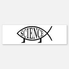 Science Fish Bumper Bumper Bumper Sticker