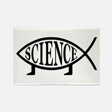 Science Fish Rectangle Magnet (10 pack)