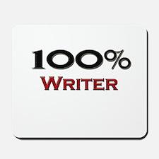 100 Percent Writer Mousepad