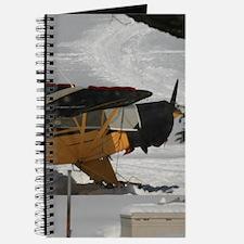 Seaplane In Winter Journal