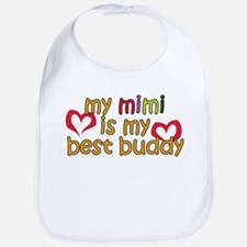 Mimi is My Best Buddy Bib