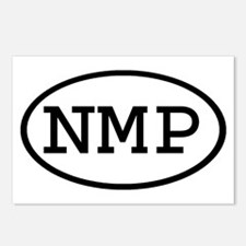 NMP Oval Postcards (Package of 8)