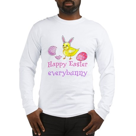 Happy Easter Everybunny Long Sleeve T-Shirt