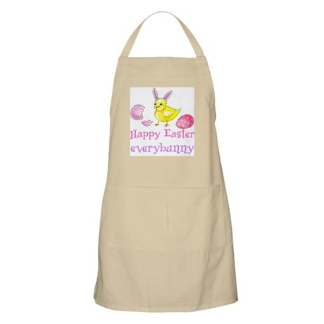 Happy Easter Everybunny BBQ Apron