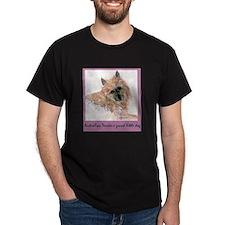 Red Australian Terrier Face T-Shirt