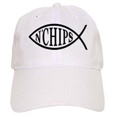 Fish N' Chips Baseball Baseball Cap