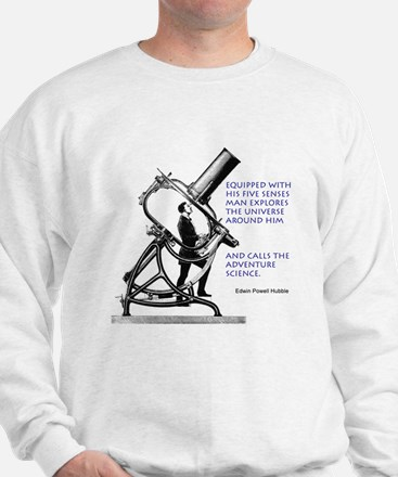 Hubble Quote Sweater