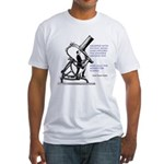 Hubble Quote Fitted T-Shirt