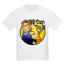 Rosie the Riveter Softball shirt T-Shirt