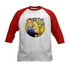 Rosie the Riveter Softball shirt Tee