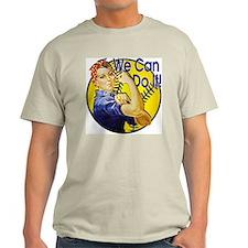 Rosie the Riveter Softball shirt T-Shirt