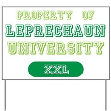 Leprechaun University Alumni Yard Sign