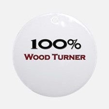 100 Percent Wood Turner Ornament (Round)