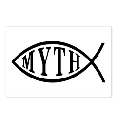 Myth Fish Postcards (Package of 8)