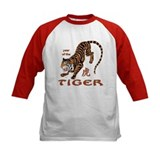 Year of the tiger kids jersey Baseball Jersey