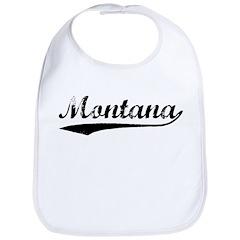 Vintage Montana (Black) Bib