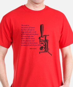 Hooke Quote T-Shirt